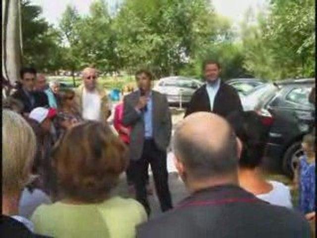 Jean Sarkozy à Breuil-le-Vert, dans l'Oise