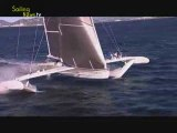 Hydroptère : record de vitesse à la voile !