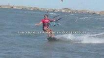 kitesurf à beauduc