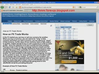 How an forex Trade Works forex,forex trading,learn forex,for