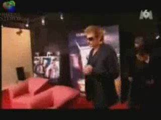 johnny hallyday 05.04.2006 rencontre eleves NOUVELLE STAR