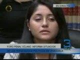 Foro Penal Vzlano informa situación sobre presos políticos