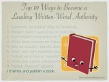How to Become a Written-Word Authority
