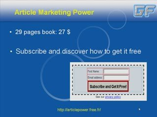 Easy Article Marketing – Article Marketing
