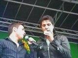 jean luc lahaye concert Gellainville 130909 dis lui en duo