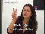 Duflot (verts) dans le cirque médiatique - Bestof @si