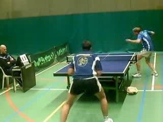 Match de première nationale entre Ttc SportLine Torhout et Ctt Braine l'Alleud