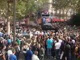 Techno parade 2009 Char fg radio