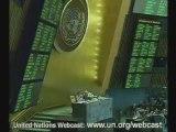 PARTIE 2-Exclusion de Andry RAJOELINA à l'ONU 25 sept 2009
