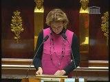 Isabelle VASSEUR Discours orateur Groupe UMP PLFSS2009