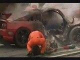 Crash Tetsuya Fuji Speedway Japan Series 98