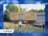 Maisons écologiques modulaire par Jonathan Bovis
