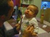 Laura et son papa