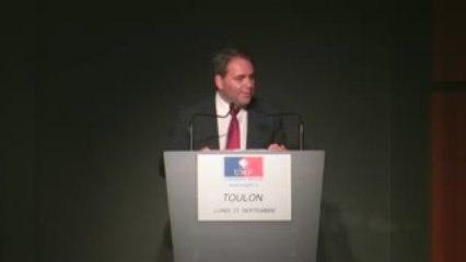 Réunion publique avec Xavier Bertrand au Palais Neptune
