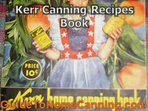 Kerr Canning Jars - Provide You A Safety Canning