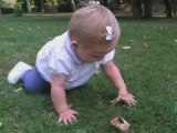Camille - 4 pattes sur l'herbe