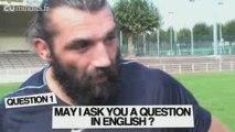 """L'interview """"plaquage"""" de Sébastien Chabal à 20minutes.fr"""