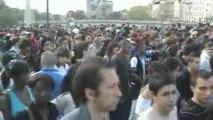Techno parade 2009 FG Dj Radio Paris char de David Guetta