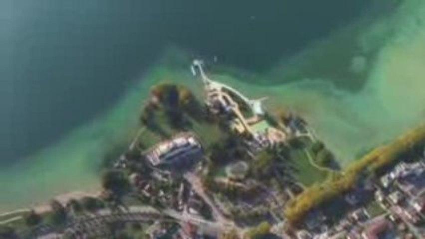 Lac d'Annecy vu du ciel