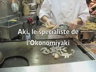 Aki, le spécialiste de l'Okonomiyaki