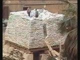 Le Caire : construction façon pyramides