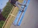 Roller agressif roller street skate park nord