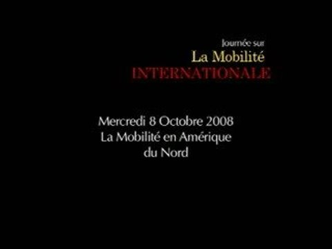 La Mobilité internationale