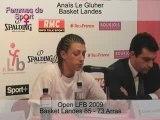 Open LFB 2009 - Basket Landes-Arras