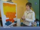 Lucieonthemoon, Artiste peintre et peinture abstraite