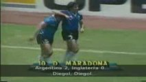 Argentina 2 - 0 Inglaterra Mundial 86