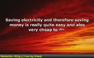 Save Electricity  Save Money  Save Us All!