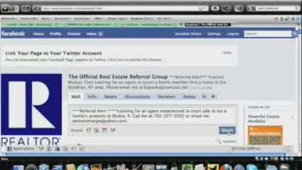 Post Referrals:Facebook Real Estate Referral Group