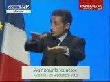 Discours sur le RSA jeunes : Sarkozy contre le RSA et le CPE