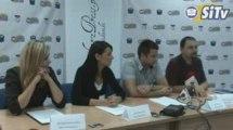 Konferencja studentów DiKS SWSPiZ - pytania dziennikarzy