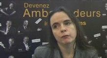 AMELIE NOTHOMB AUX RENCONTRES PASSERELLES DE RMS REIMS