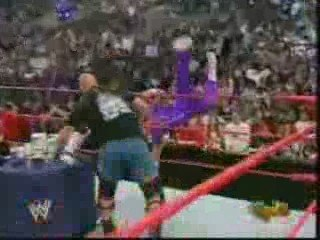 Stone Cold Returns To Raw 4/4/05 Part 2