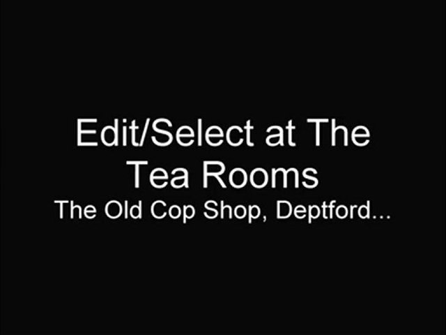 Edit/Select take a break at The Old Cop Shop Tea Rooms