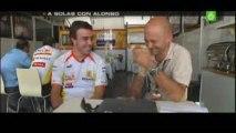 Entrevista Alonso GP Europa 2009