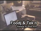 FOODJ & TEK'N BEAT MAKING SAMPLE BY ALTON ELLIS