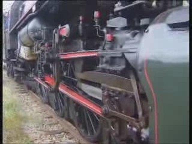 Locomotive à vapeur 141R420