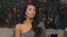 Kim Kardashian Letterman Int