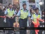 Népal, Chine: Les manifestants tibétains dans la rue