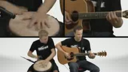 Guitar And Djembe Jam – Guitar Lessons