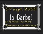 """La Barbe au festival """"Femmes en résistance 2009"""""""