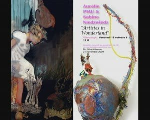 Artistes In Wonderland- la bande annonce de l'exposition