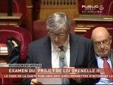 """SEANCE,Projet de loi sur l'environnement dit """"Grenelle II"""""""
