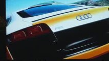 Forza Motorsport 3 - Menu du jeu Audi R8