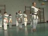 stage karate enfants des vacances scolaires de fevrier 2009