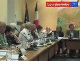 Conseil Municipal de Lourdes (projet Lac de Lourdes)