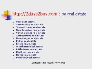 pa real estate | pennsylvania real estate | real estate pa